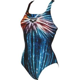 arena Glory Swim Pro - Bañador Mujer - azul/negro